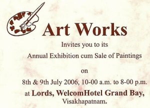 Artworks Exhibition 2006