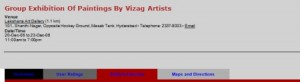 article: 'Group Exhibition Of Paintings By Vizag Artists'